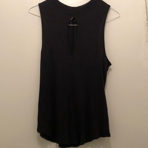 Free People Black Tank
